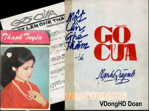 Nhạc trước 1975-Gỏ Cửa-Thanh Tuyền (âm chuẩn 1975) HD