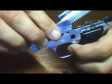 Порядок разборки и сборки пистолета