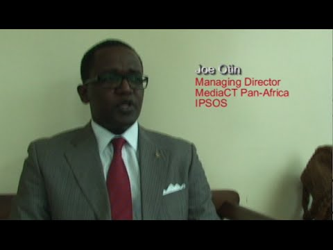 Joe Otin Managing Director Media CT Pan-Africa IPSOS Kenya