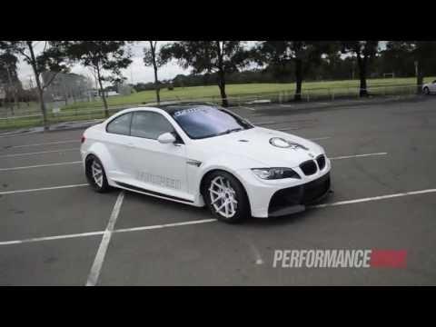 RamSpeed BMW M3 - Vorsteiner widebody, 400kW VF Engineering supercharger
