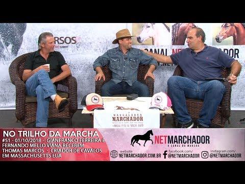 #51 - 01/10/2018 -  CONVIDADO DO DIA THOMAS MARCOS - MANGALARGA MARCHADOR