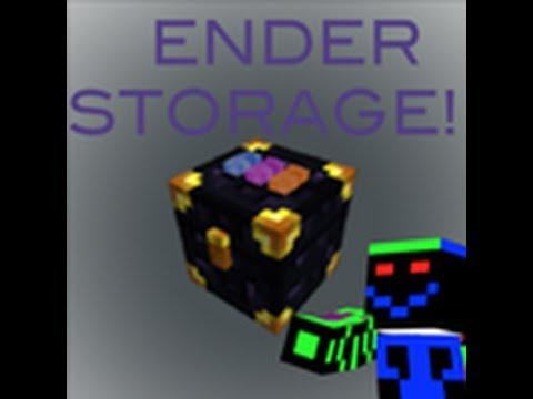 minecraft mod showcase:ender storage!!