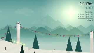 Alto's Adventure: Kiss the Rail - iOS iPhone 5 Gameplay