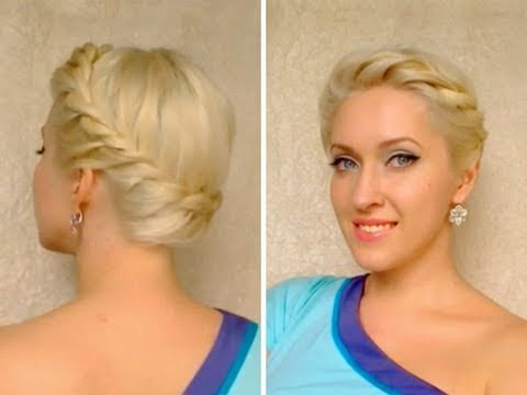 Wedding prom hairstyles for medium long hair Crown braid tutorial Summer greek goddess updo, JOIN ME ON FACEBOOK http://www.facebook.com/LilithMoon *** In this braided summer hair tutorial inspried by the latest hair trends I'll show you how to do a ...