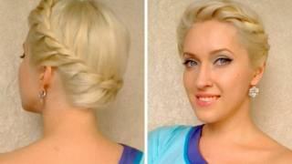 Greek Goddess Crown Braid Tutorial Twisted Prom Updo