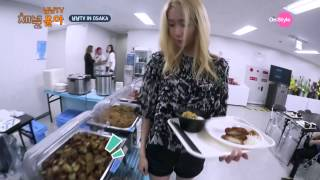 [Channel Yoona_채널 윤아] Real Eating Broadcast in Osaka