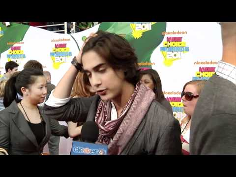 Avan Jogia 2011 Kids' Choice Awards Interview