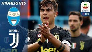 13/04/2019 - Campionato di Serie A - Spal-Juventus 2-1, gli highlights