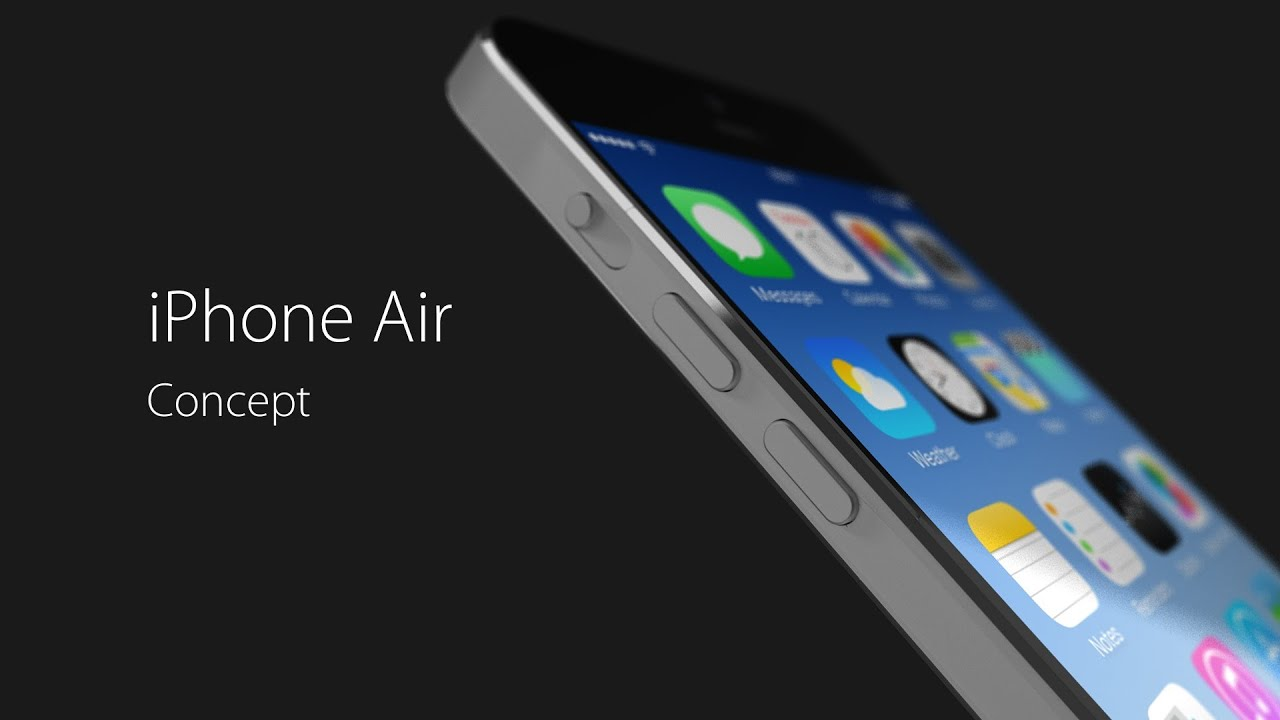 Iphone Air Concept Video