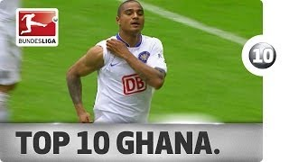 Top 10 Goals - Ghanaian Footballers