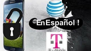 Como A Desbloquear Samsung Galaxy S4 Para T-Mobile Y AT&T