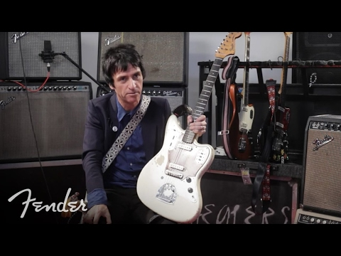 Fender 2018 Limited Edition Johnny Marr Signature Jaguar, Lake Placid Blue