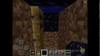 Minecraft PE: How To Make Funny Zombie Trap!