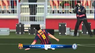 PES 2014 UEFA Champions League Semifinales Vuelta FC