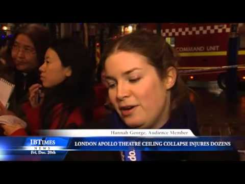 London Apollo Theatre Ceiling Collapse Injures Dozens