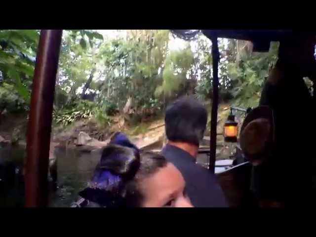 Disneyland Jungle Cruise Ride POV 2014 {Ask for the Map!}
