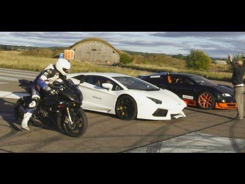 ultra hd 4k drag race bugatti veyron vitesse vs lambo. Black Bedroom Furniture Sets. Home Design Ideas