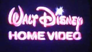 Walt Disney Home Video Apertura De Los VideoCassettes