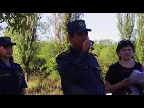 """Видео! Военно-патриотическая игра """"ЗАРНИЦА"""" в городе Снежное."""