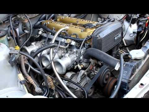 Запуск двигателя 4A-GE 20 Valve в HD