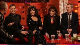 Joan Collins And Her Wig Collection The Graham Norton