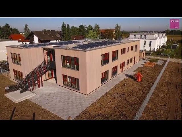 Bauen mit Tanne - Kinderkrippe am Krayweg · München