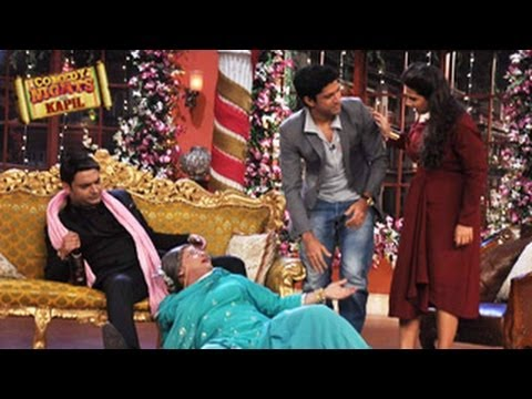 Vidya Balan & Farhan Akhtar on Comedy Nights with Kapil 15th February 2014 episode