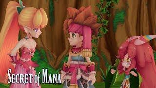 Secret of Mana - Megjelenés Trailer