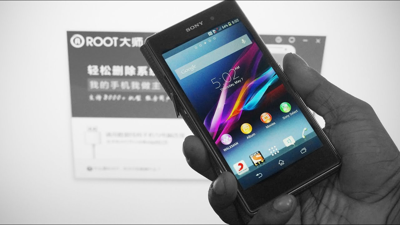 how to root sony xperia z1 me