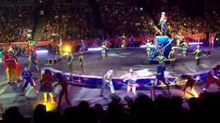 Ringling Brother's Circus at the Anaheim Honda Center