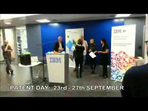 2013 IBM Patent Day Announcement   Dublin