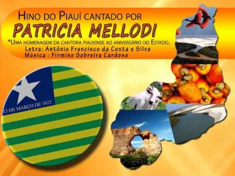 Hino do Piauí na voz de Patricia Mellodi