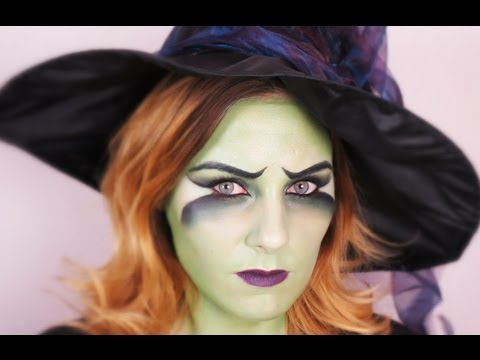 Fasching/Halloween Witch MakeUp Tutorial | TheBeautysAddiction