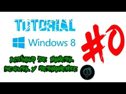 Activar Windows 8 de Manera Segura y Permanente