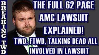 TWD Canceled? AMC Lawsuit EXPLAINED   Robert Kirkman SUES over Walking Dead, FearTWD, & Talking Dead
