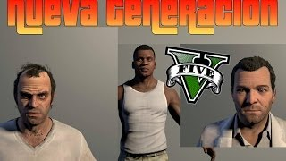 GTA V - Modelos y Diseños Para PC y Next Gen ¿Filtración? (Ps4,Xbox one,PC)