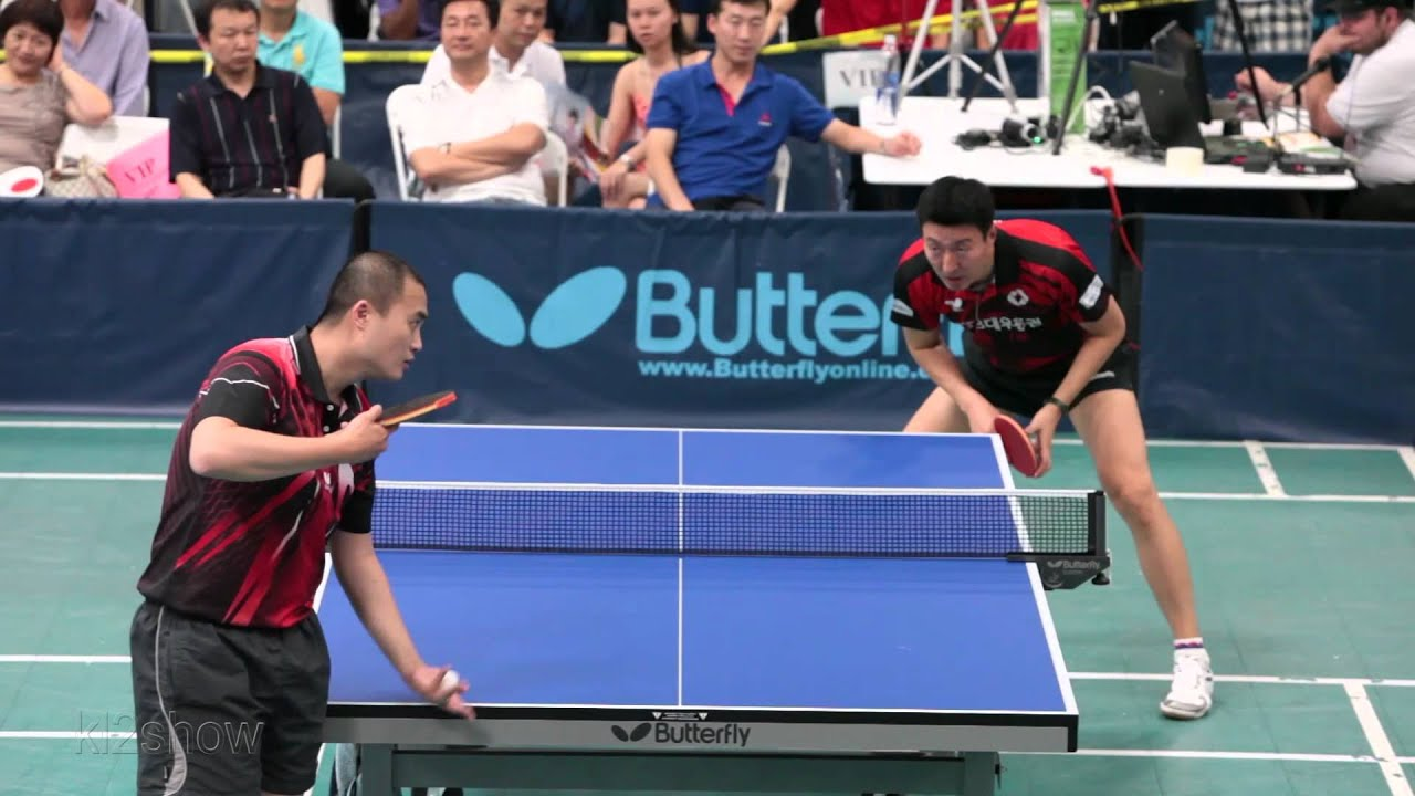 2012 l a open table tennis tournament qf oh sang eun vs for 10 rules of table tennis