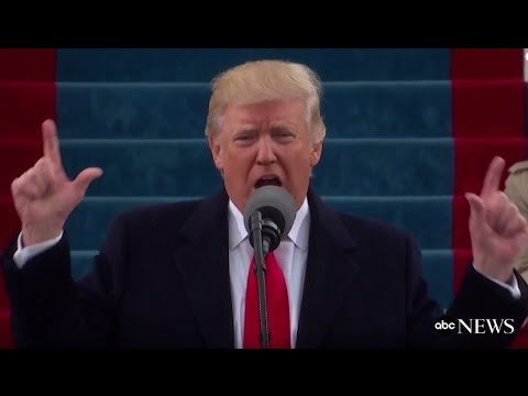 Trump Inauguration Speech (FULL) | ABC News