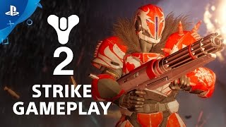Destiny 2 - 'Inverted Spire' Strike Gameplay