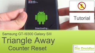 Samsung Galaxy S3: Counter Reset Mit Triangle Away