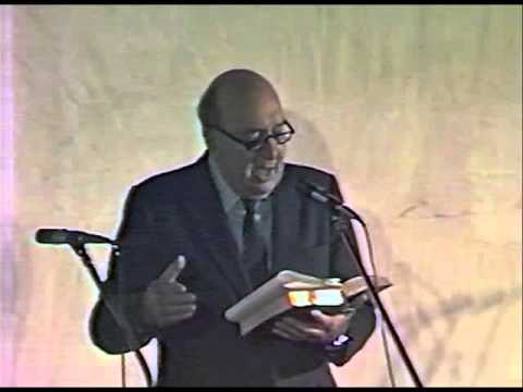 Roberto Parada recita a Pablo Neruda