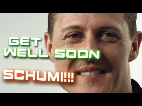 Get well soon, Schumi!