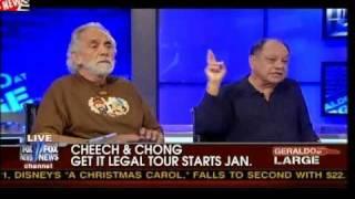 Ann Coulter Debates Cheech & Chong About Legalizing Marijuana