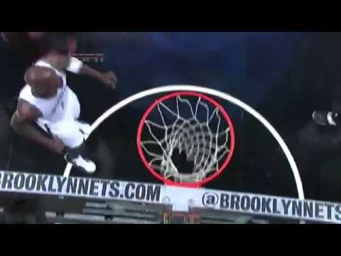 LeBron James Strong And One On Paul Peirce  Nets vs Heat   NBA Playoffs 2014