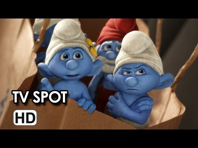 The Smurfs Tv Spot - Two Times The Trouble (2013) Movie HD