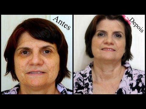 Maquiagem para pele madura