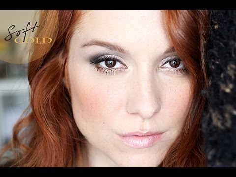 Maquillage fêtes #2 : Soft Gold