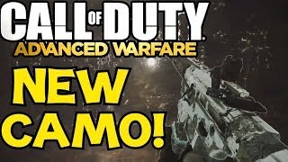 Call Of Duty: ADVANCED WARFARE NEW CAMO! Black Ops 2