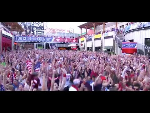 The United States Defeats Ghana - Everyone Goes Nuts!