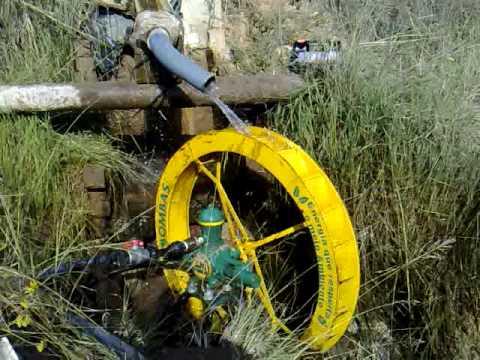 Instalação de bombas de roda d'água - ZM Bombas - África